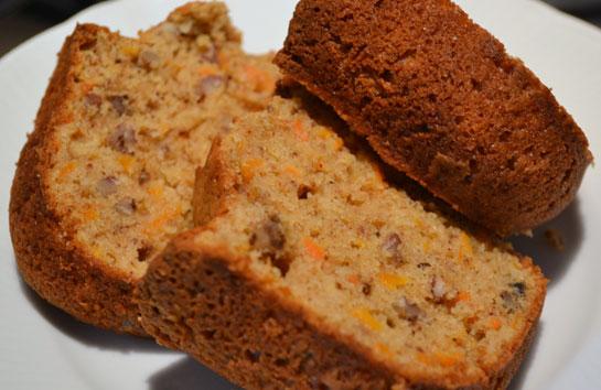 Tarçınlı Cevizli Havuçlu Kek